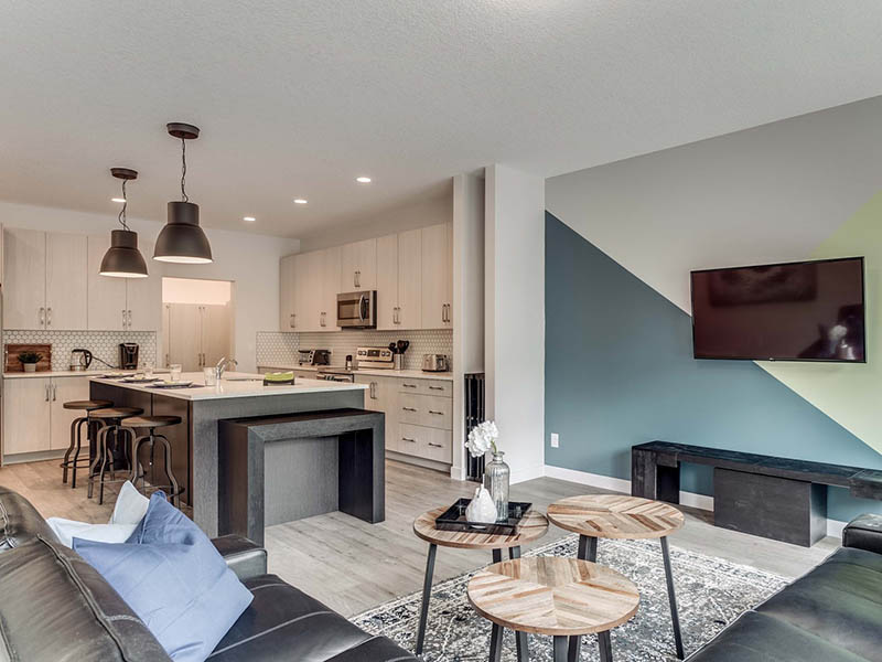 Unihouse \ upscale shared living for students in Calgary by Winchester Builders